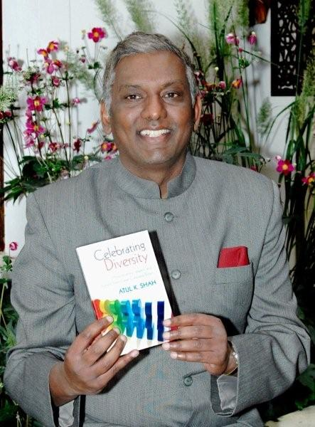 atul with book